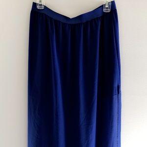 Maxi Skirt - Royal Blue